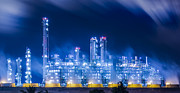 Gasoline Photos - Stream Power Plant by Anek Suwannaphoom