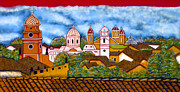 Nicaragua Acrylic Prints - Street Art Granada Nicaragua 3 Acrylic Print by Kurt Van Wagner