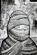 Alienate Prints - Street Art In Cochin Print by Shaun Higson