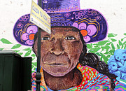 Mural Photos - Street Art Lima Peru 1 by Kurt Van Wagner