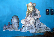 Mural Photo Posters - Street Art Poconchile Chile Poster by Kurt Van Wagner
