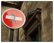 Stop Sign Photos - Street Art STOP sign by Philip Sweeck