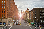 Traffic Framed Prints - Street as seen from the High Line park Framed Print by Amy Cicconi