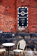 Balzac Photo Posters - Street Cafe Poster by Valentino Visentini