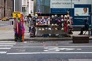 Clothes Clothing Art - Street Clothing Vendor  by Thomas Marchessault