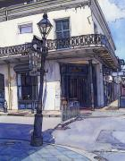 New Orleans Drawings - Street Corner 214 by John Boles