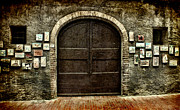 Garage Wall Art Framed Prints - Street Gallery Framed Print by Karen Lewis