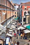 Editorial Framed Prints - Street in Venice Framed Print by Gabriela Insuratelu