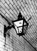 Street Framed Prints - Street Lamp Framed Print by Mark Rogan