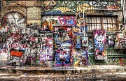 Tagging Digital Art - Street Life by Anthony Wilkening