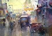 Mohan Watercolours - Street
