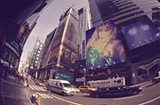 Photographs Mixed Media - Street Of New York by HollyWood Creation By linda zanini