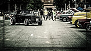 Street Photography Digital Art - Street Rod by Perry Webster