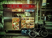 Bike Framed Prints - Street Vendor New York City Framed Print by Amy Cicconi