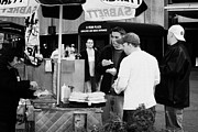 Break Fast Photos - Street Vendor Selling Hot Dogs People New York City Manhattan by Joe Fox