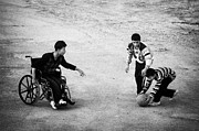 Disability Posters - Streetball Poster by Ilker Goksen