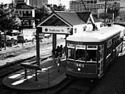 Kathleen K Parker - Streetcar at Toulouse Depot New Orleans