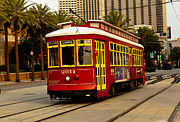 French Photo Originals - Streetcar by Susie Hoffpauir