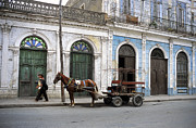 Cart Horse Photos - Streets of Cienfuegos by James Brunker