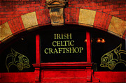 Jenny Rainbow - Streets of Dublin. Irish Celtic Craftshop. Painting Collection
