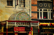 Jenny Rainbow - Streets of Dublin. The Olympia Theatre. Painting Collection