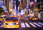 Susan Zavadil - Streets of Manhattan