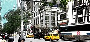 Color Framed Prints - Streets of New York City 10 Framed Print by Mario  Perez