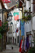 Daily Life Framed Prints - Streets of Portugal Framed Print by James Brunker