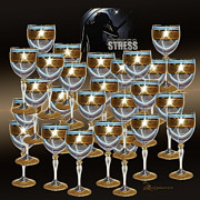 Cheers Prints - STRESS - Featured in Newbies and Visions in the Night Groups Print by EricaMaxine  Price