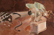 Violin Digital Art - String Angel by Guy Matorin