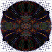 Mandala Photos - Stringed Complex Mandala Yantra by Marie Jamieson