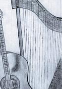 Strings Print by Elizabeth Briggs