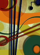 Sketchbook Posters - Strings Poster by Ron Grafe