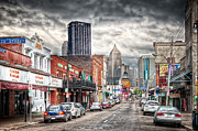 Strip District Pittsburgh Print by Emmanuel Panagiotakis