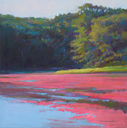 Cape Cod Pastels Originals - Strip of Lime by Ed Chesnovitch