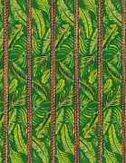 John Keaton - Striped Palms Textile...