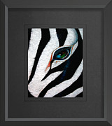 Andrew Wells - STRIPES Custom Framed...