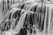 Gray And White Posters - Strong Waters Poster by Jon Glaser