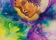 African-american Paintings - Strong Women of the World  Diligence  by Ilisa  Millermoon