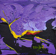 Strike Paintings - Struck By Lightening by Donna Blackhall