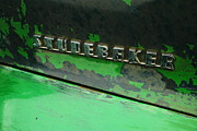 Old Relics Photo Framed Prints - Studebaker Framed Print by Jeff  Swan