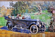 Seville Posters - Studebaker  Poster by Mary Machare