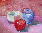 Cape Cod Mass Painting Prints - Studio Still Life Print by Maria Milazzo