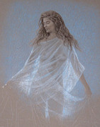 Figure Study Pastels - Study for Evening by Wes Lee