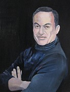 Entertainer Paintings - Study for Felix by Ray Agius