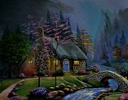 Stefon Marc Brown - Study of Kinkade Style...