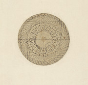 Ages Prints - Study of water wheel from Atlantic Codex  Print by Leonardo Da Vinci
