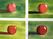 Richard Faulkner - Study Red and Green