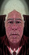 Self-portrait Digital Art - Study by Ron Bissett