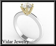 Roi Avidar - Stunning Two Tone Gold...